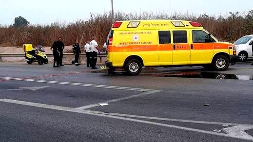 إصابة شاب إثر حادث طرق قرب مفرق چَزيت