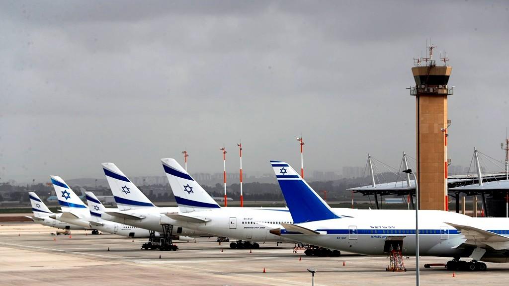 """السماح للفلسطينيين بالسفر عبر مطار """"بن غوريون"""""""