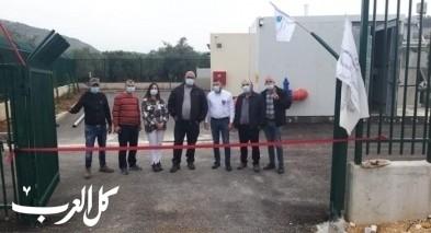 شعب: افتتاح مضخة صرف صحي جديدة
