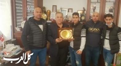 علي سلّام يكرم أبطال نادي نجوم الناصرة