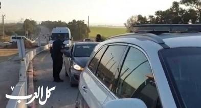 النقب:حملة للشرطة ضد العمال الفلسطينيين