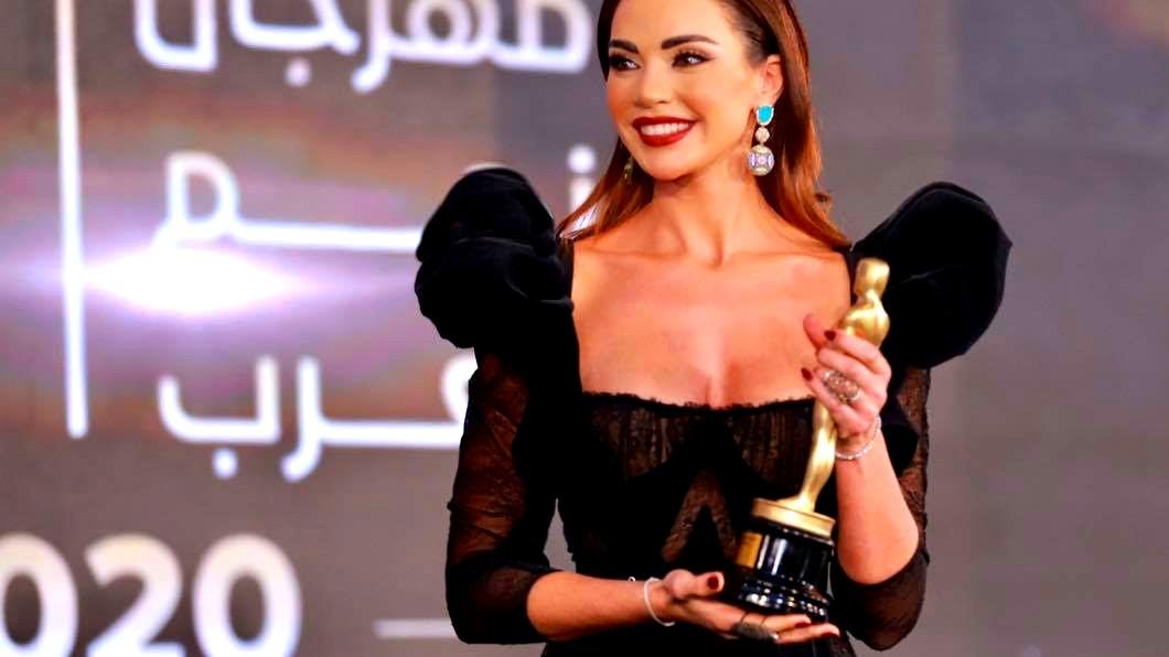 تكريم اللبنانية داليدا خليل في مصر