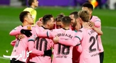 برشلونة يحتل بلد الوليد بثلاثية في الدوري الإسباني