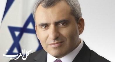 الوزير زئيف إلكين يعلن استقالته من الليكود والحكومة
