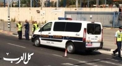 اصابة شاب في حادث قرب عيلوط