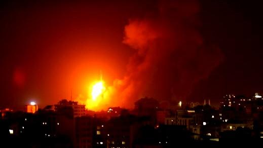 غارات للجيش الاسرائيلي على أهداف تابعة لحماس