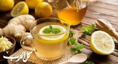 شاي النعناع والزنجبيل.. ممتاز في الشتاء