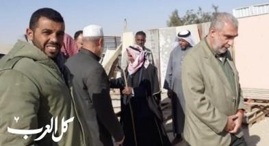 الشيخ كمال خطيب في زيارة للنقب