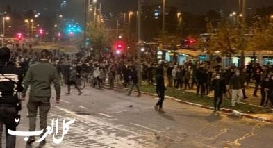 القدس: تظاهرة للمستوطنين واصابة 11 شرطيا واعتقال 21