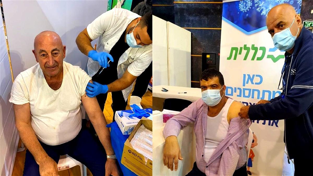 صليبي وذباح يتلقيان التطعيم ضد فيروس كورونا