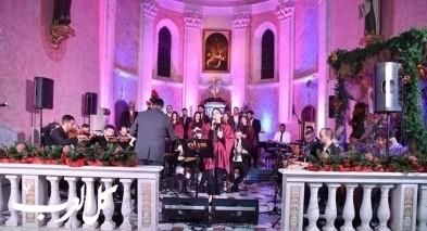 نجاح الكونسرت الميلادي لفرقة سراج في الرملة