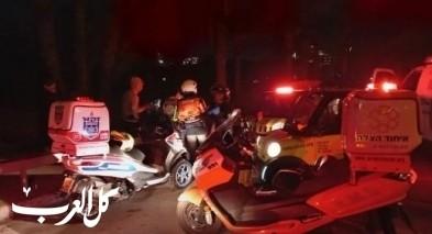 اصابة طفل بجراح خطيرة بعد تعرضه للدهس قرب دبورية