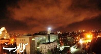 الدفاعات الجوية السورية تتصدى لغارة إسرائيلية