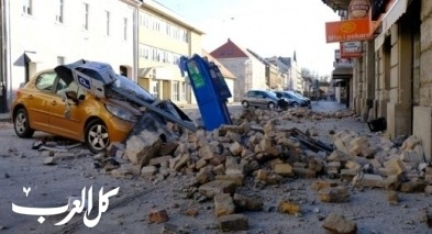 قتلى في زلزال قوي يهز وسط كرواتيا