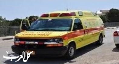 اصابة فتى في حادث تركترون قرب الكعبية