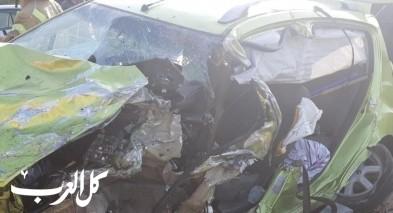 اصابات خطيرة في حادث مروع قرب جلجولية