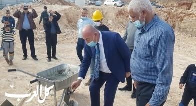 وضع حجر الأساس لبناية مجلس دير الأسد