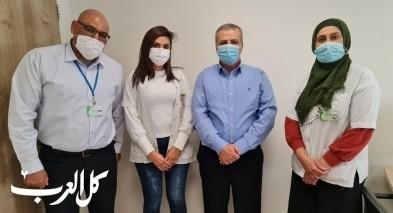 مجلس البعينة نجيدات ينظم حملة تطعيم