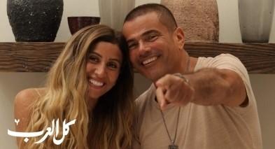 انفصال عمرو دياب والشربيني يعود للواجهة