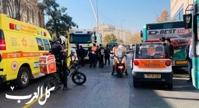 القدس: مصرع سيدة دهسًا قرب محطة الحافلات
