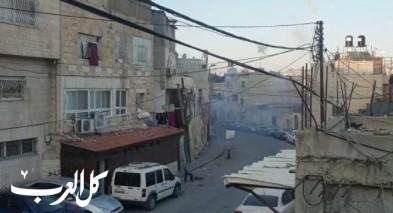 القدس  اطلاق رصاص خلال شجار عنيف