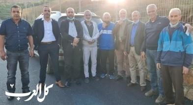 جمعية الكوثر في سخنين بزيارة لمقبرة وادي الصفا