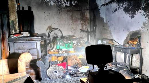 جديدة المكر: اندلاع حريق في مخزن بدون اصابات