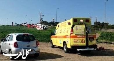 اصابة عامل بجراح خطيرة اثر سقوطه بمصنع قرب العفولة