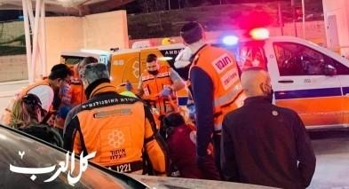 القدس: اصابة شاب بجراح خطيرة باطلاق نار في شعفاط