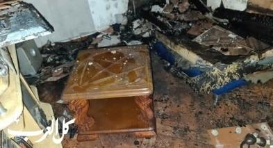 معلوت ترشيحا: اصابة شخصين جراء حريق في شقة