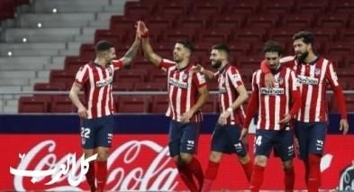 أتلتيكو مدريد يطمح لرد الإعتبار في لقائه المؤجل