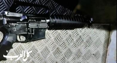 ضبط سلاح غير قانوني في قرية سالم