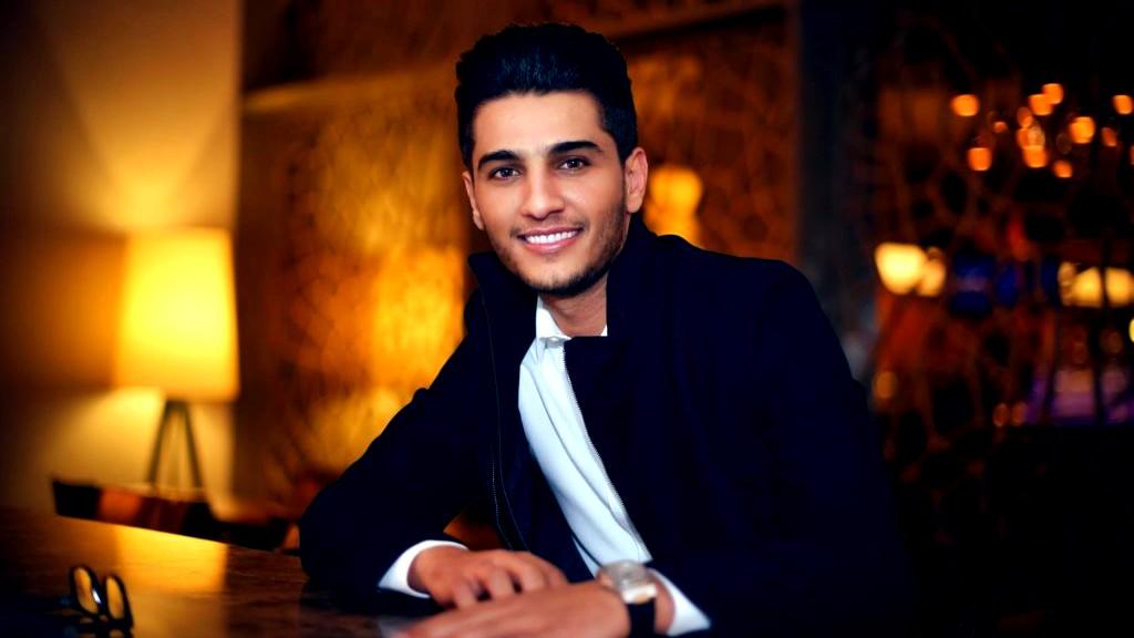 محمد عساف يحتفل بنجاح جديده