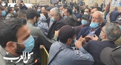 الناصرة: مناوشات واحتجاجات ضد زيارة نتنياهو