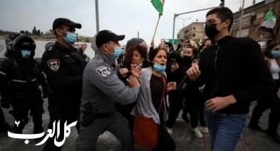 19 معتقلا بعد المظاهرات في الناصرة