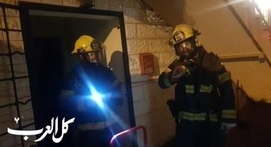 حاسوب نقّال يتسبب باندلاع حريق في شقة بمدينة حيفا