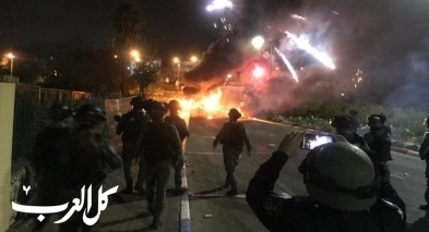 بسمة طبعون: تجدد المواجهات بين شبان وقوات الشرطة
