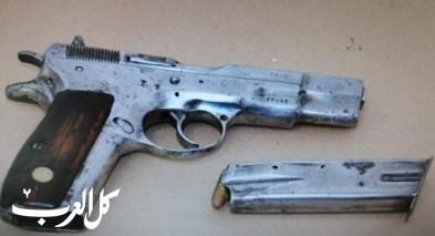 عرابة: ضبط مسدسين داخل منزل واعتقال مشتبه