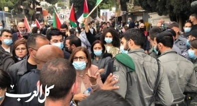 المتابعة تدين العدوان البوليسي الإرهابي على المتظاهرين ضد نتنياهو في الناصرة