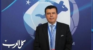طلال دراوشة يراقب الحكام ضمن دوري أبطال أوروبا