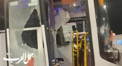 عرابة: اتهام شاب بإلحاق ضرر بحافلة واصابة السائق
