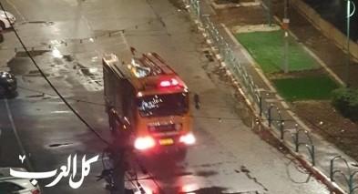 انفجار اسطوانة غاز يتسبب في احتراق منزل في بلدة شعب