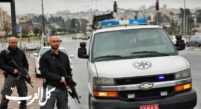 اعتقال مشتبهين مسلحين في رهط