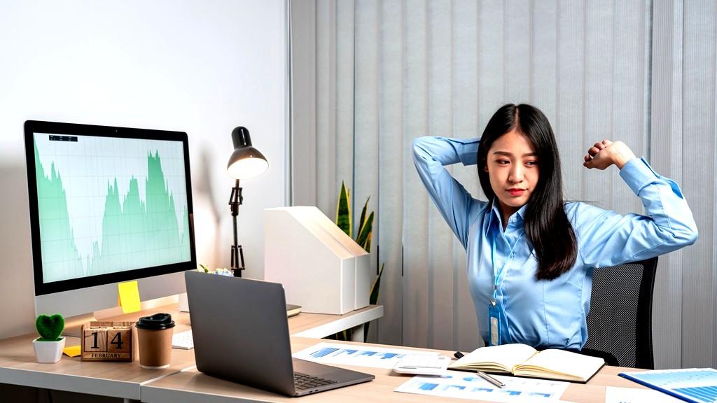 حركات رياضية تحميك من آثار الجلوس