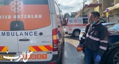 رعنانا: اصابة عامل (33 عاما) بجراح خطيرة اثر سقوطه