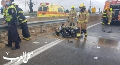 مصرع شاب بحادث دراجة نارية قرب ريشون لتسيون