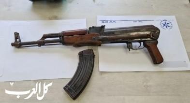 دير الأسد: ضبط سلاح كلاشينكوف