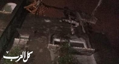 أضرار في قصف إسرائيلي استهدف مواقع عدة في غزة