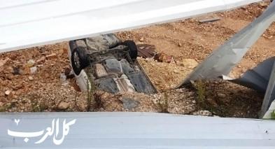 دير الأسد: إصابة شاب جرّاء إنزلاق سيارته