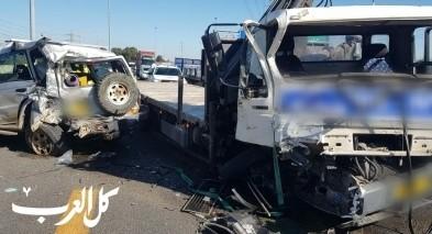 اصابة شخصين بحادث مروع قرب ريشون لتسيون